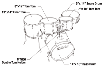 Imperialstar Drum Kits | Imperialstar | DRUM KITS | PRODUCTS | TAMA