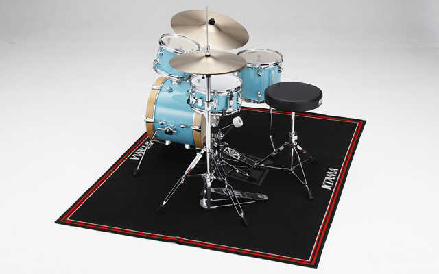 Fits to accommodate compact drum set