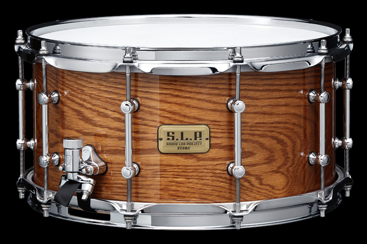 "S.L.P. 14""x7"" G-Maple Snare Drums w/ White oak outer ply  -Limited Product-"