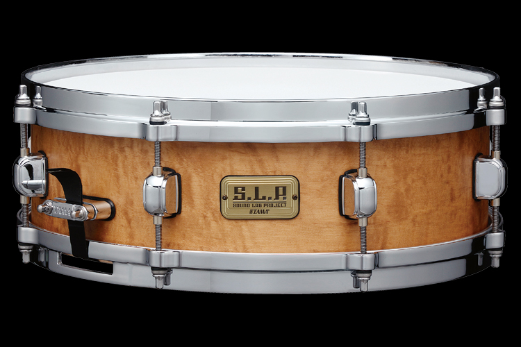 "S.L.P. 14""x4.5"" Maple Snare Drum w/ Figured Maple Outer Ply -Limited Product-"