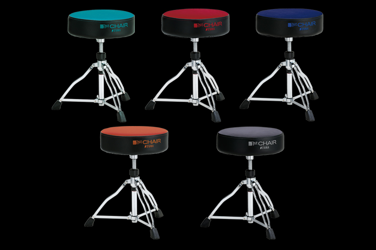 1st Chair Drum Throne Limited 5 Color Cloth Top Seats