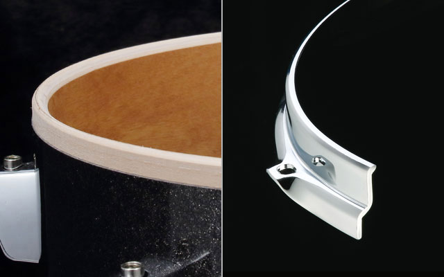 100% Birch shells (Cocktail-JAM) + Sound Arc Hoop