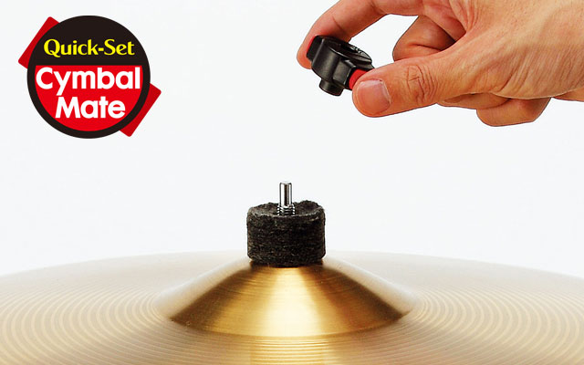 Quick-Set Cymbal Mate (US. PAT.No.7629526)