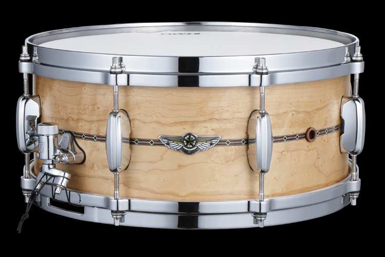 STAR SOLID BIRDSEYE MAPLE SNARE DRUM -Limited Model-
