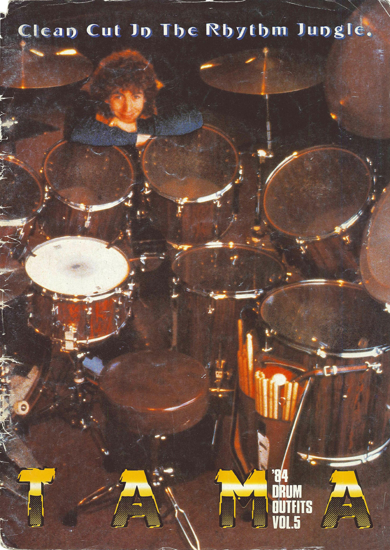 1984TAMA DRUM OUTFITS VOL5