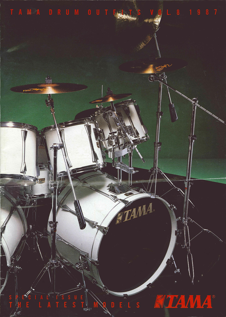 1988TAMA DRUM OUTFITS VOL8