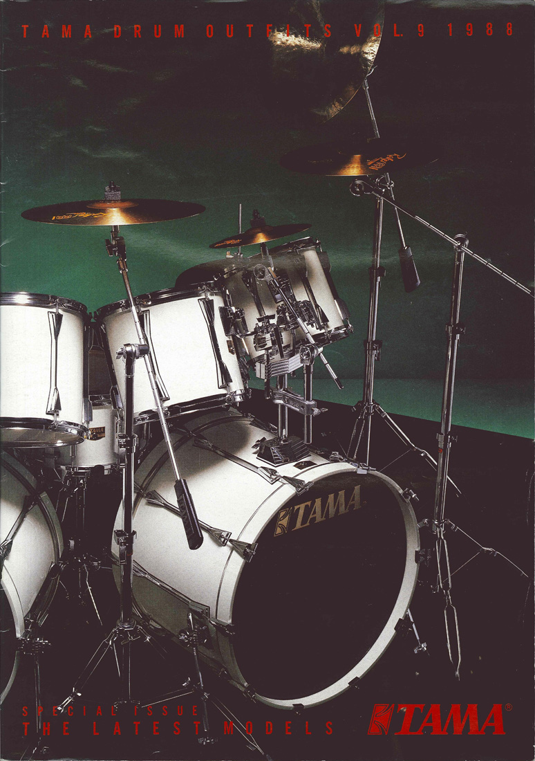 1988TAMA DRUM OUTFITS VOL9