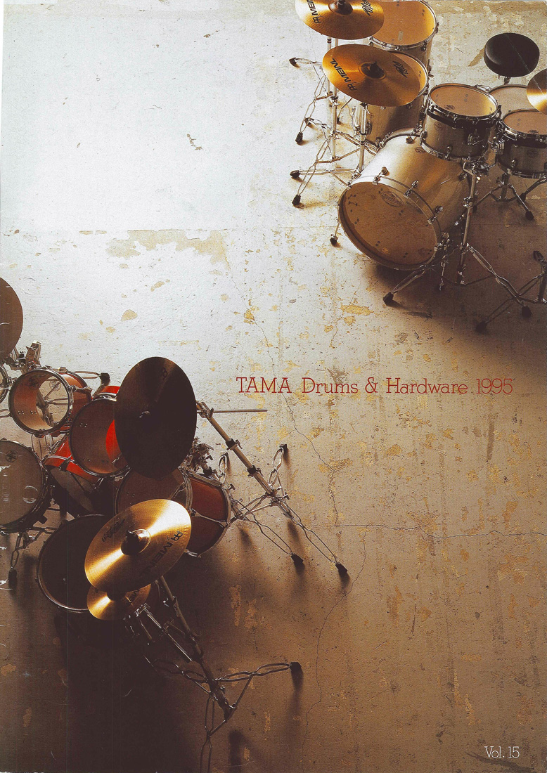 1995TAMA DRUMS HARDWARE VOL15