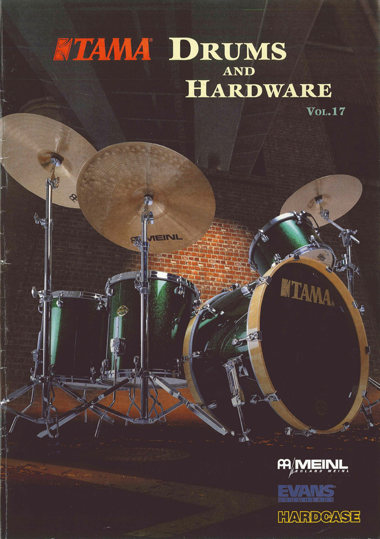 1997TAMA DRUMS HARDWARE VOL17