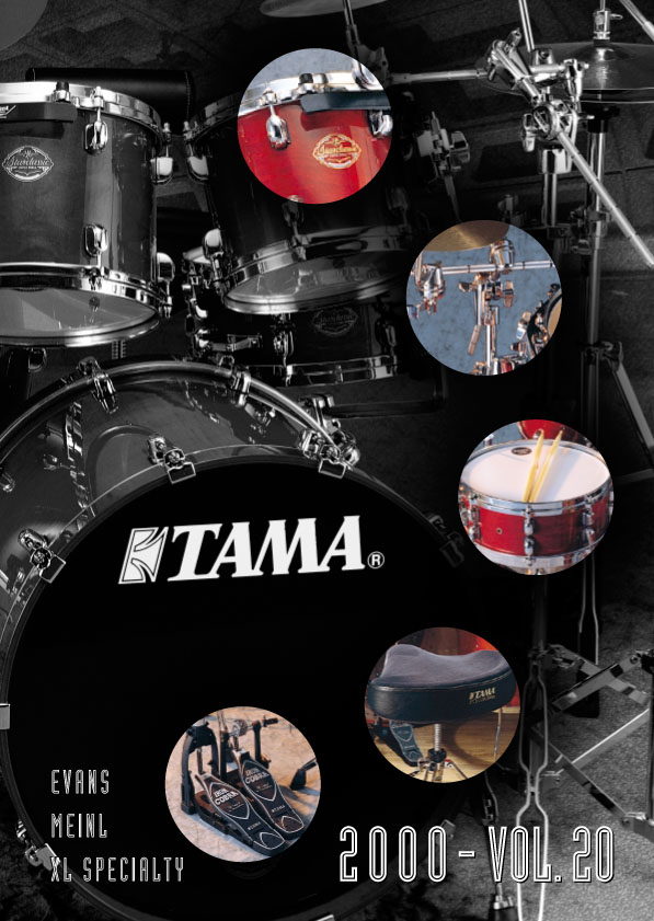 2000TAMA DRUMS HARDWARE VOL20