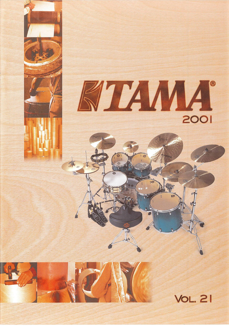 2001TAMA DRUMS HARDWARE VOL21