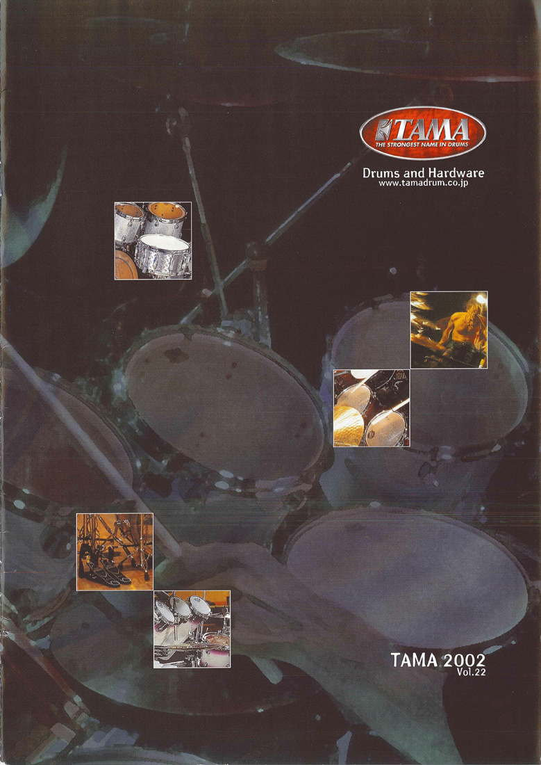 2002TAMA DRUMS HARDWARE VOL22