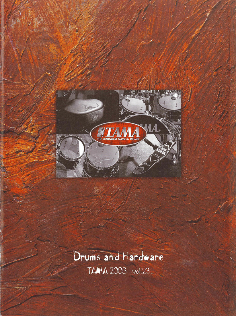 2003TAMA DRUMS HARDWARE VOL23