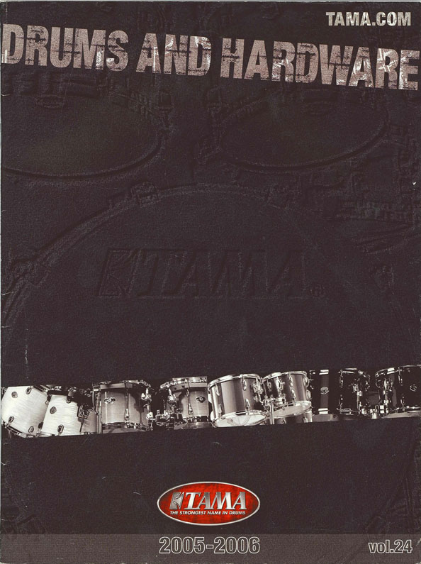 2005TAMA DRUMS HARDWARE VOL24