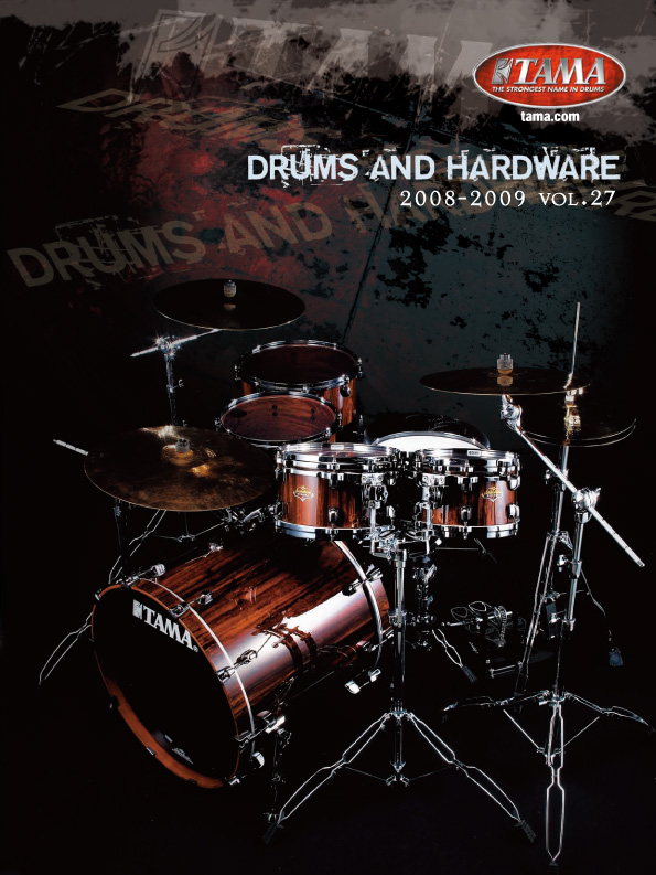 2008TAMA DRUMS HARDWARE VOL27