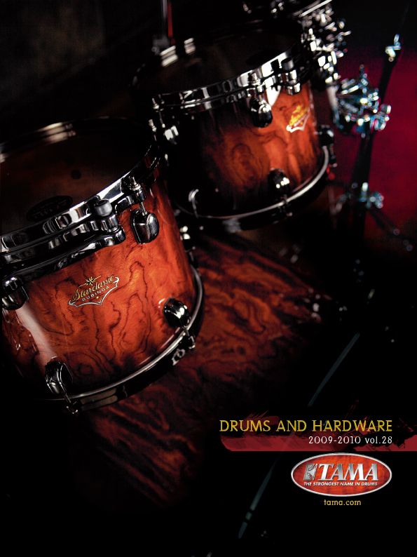 2009TAMA DRUMS HARDWARE VOL28