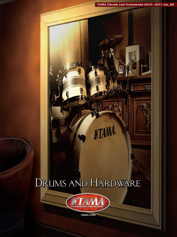 2010TAMA DRUMS HARDWARE VOL29