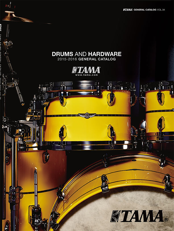 2015TAMA DRUMS HARDWARE VOL34