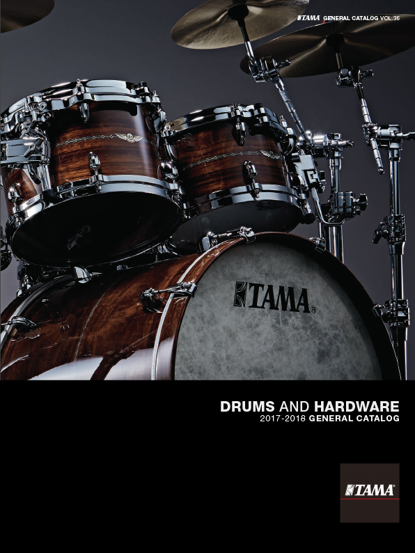 2017TAMA DRUMS HARDWARE VOL36