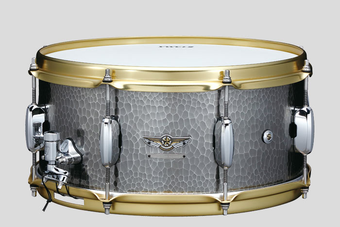 STAR Reserve Hand Hammered Aluminum Snare Drum