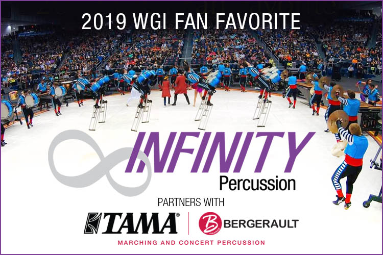 INFINITY Percussion Partners with TAMA|BERGERAULT