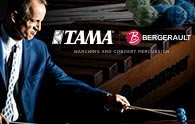 TAMA PARTNERING WITH BERGERAULT PERCUSSIONS CONTEMPORAINES