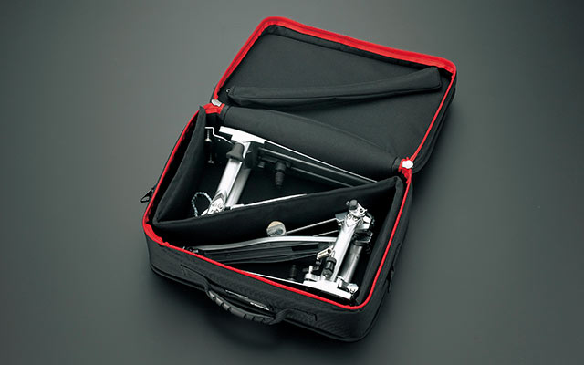 Tama TPB200BK Powerpad Designer Pedal Bag Schwarz Tasche Drum Pedal Twin Single