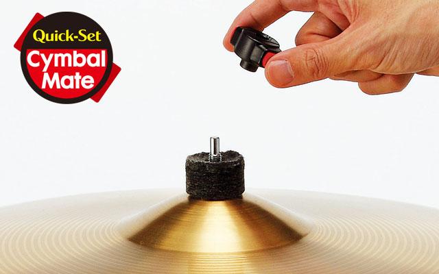 Quick-Set Cymbal Mate (US. PAT.No.7629526)