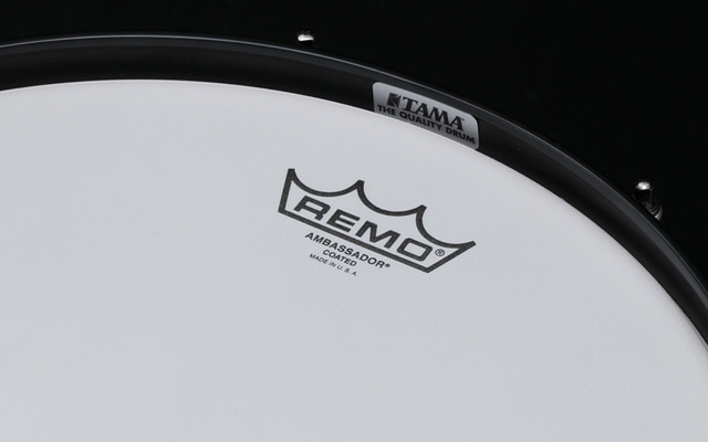 REMO Ambassador Coated / Hazy Snare Side