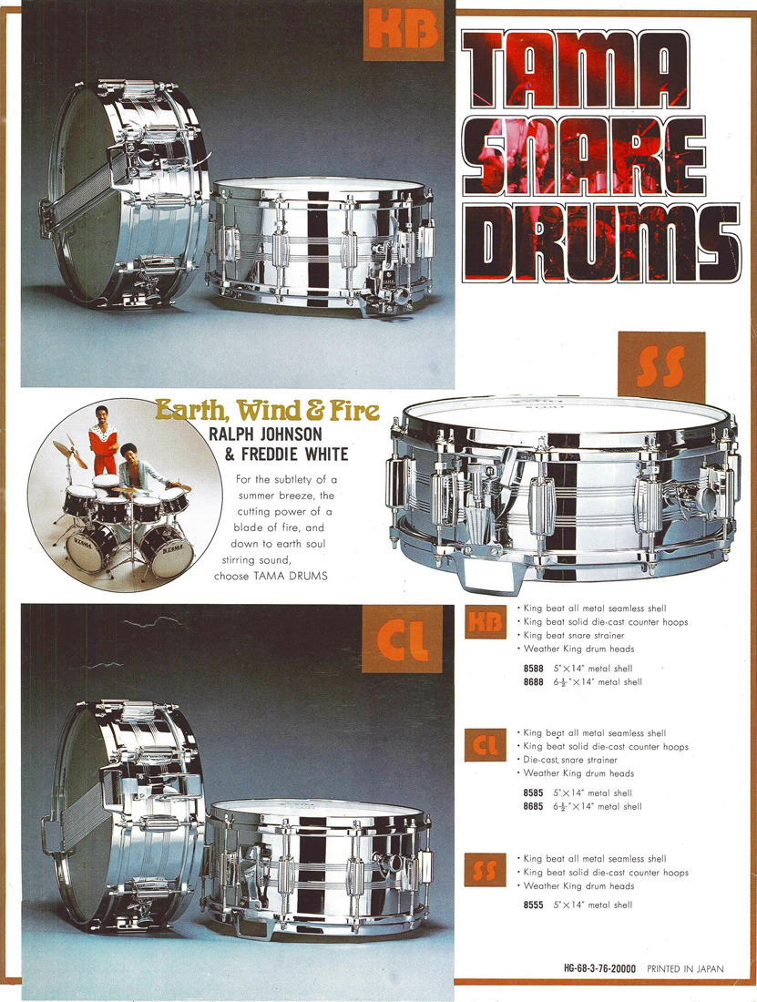 1976 Snare Drums