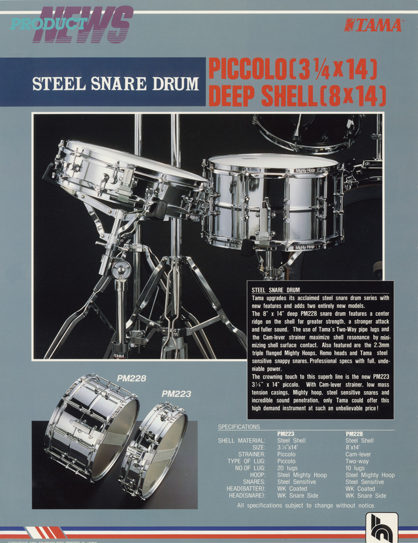 1989 Snare Drums2